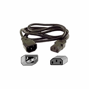 Cisco - Routing High End         Cabinet Jumper Power Cord 250       Vac 16a  C14-c15 Connectors         Cab-c15-cbn=