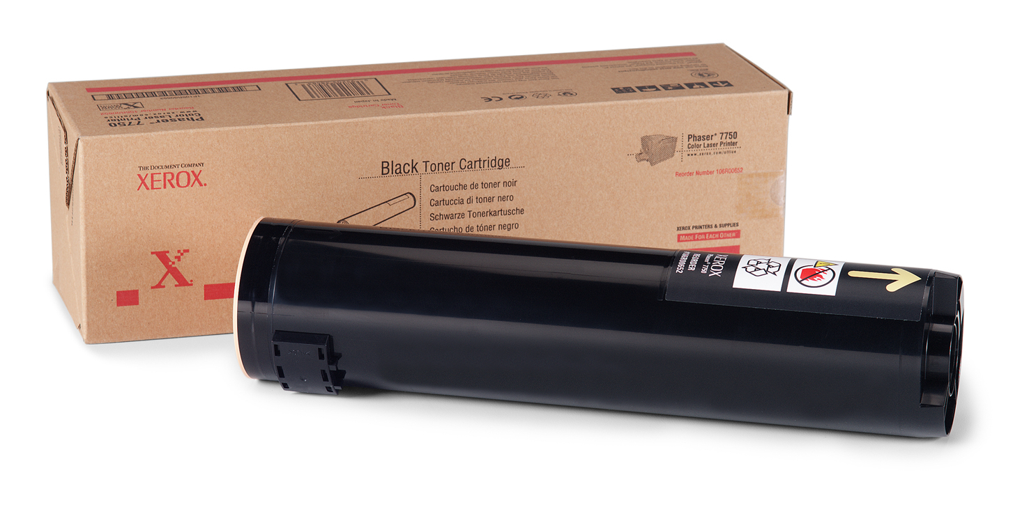 106R00652 Xerox Phaser 7750 Black Toner Cart 32k *Reduced Price*