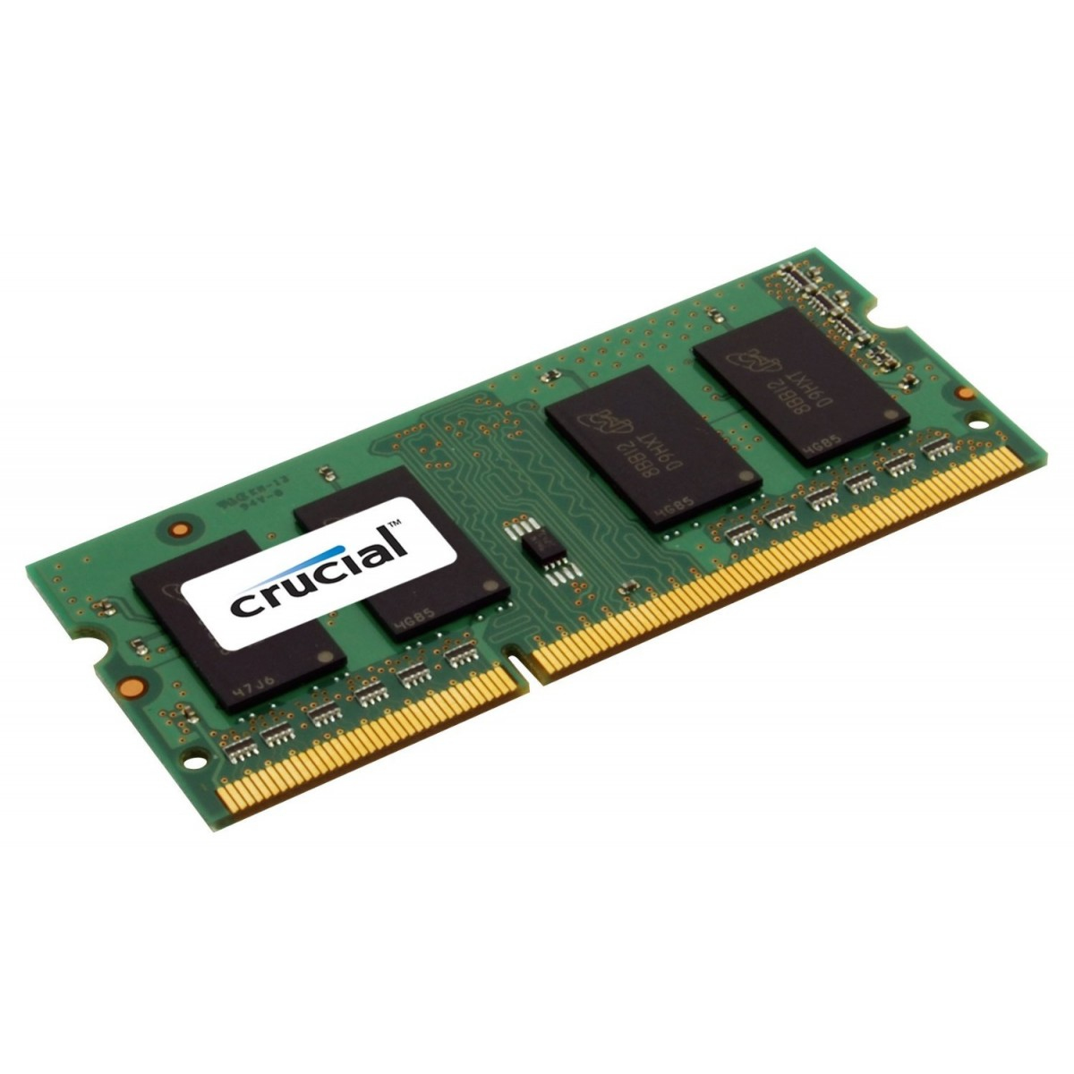 Crucial 8GB DDR3 1600 MT/s  (PC3-12800) CL11 SODIMM 204pin 1.35V/1.5V CT102464BF160B - C2000