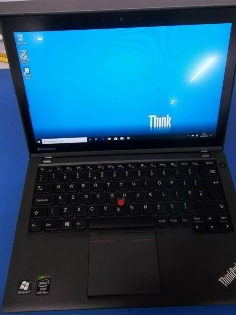 "LAPR-X240-I5-8-180-B Lenovo Thinkpad X240  i5 4300U 1.9Ghz 8GB 500GB Sata 12.5"", Windows 10 Included - Ex Demo - A Grade"